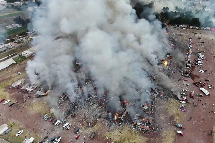 В итоге  взрыва наярмарке пиротехники погибло 29 человек