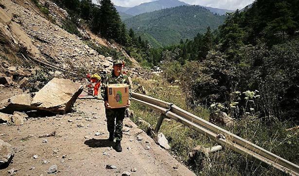 В379км насеверо-восток отАлматы случилось землетрясение