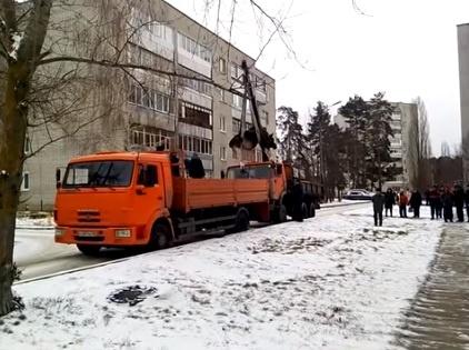 ВПензенской области эвакуатор увез лося
