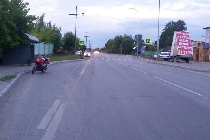 ВТюмени будут судить мотоциклиста, сбившего насмерть старушку