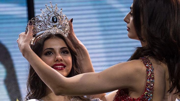 Нижегородка Екатерина Егорова стала владелицей сразу 2-х титулов наконкурсе «Краса России»