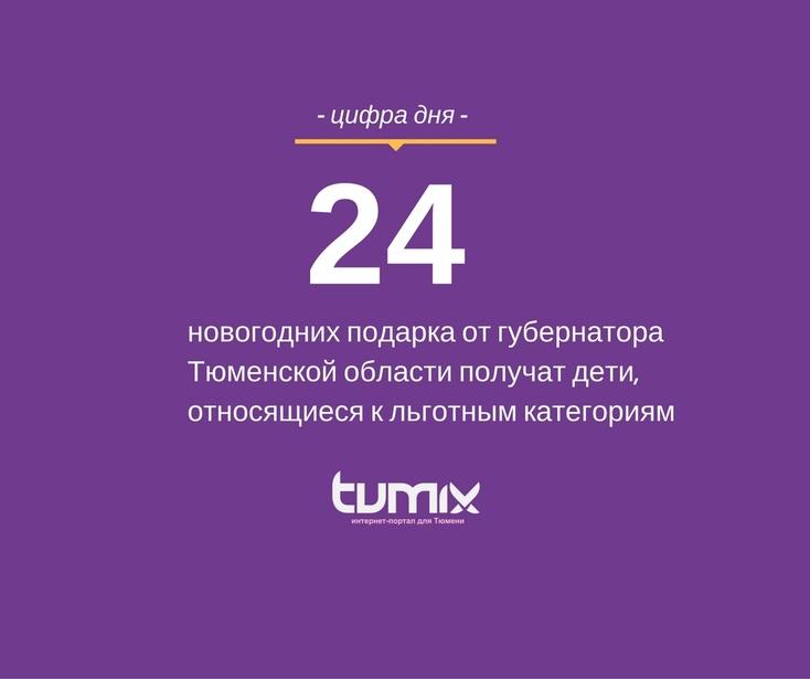 ВТюмени 24 тысячи детей получат новогодние подарки отВладимира Якушева