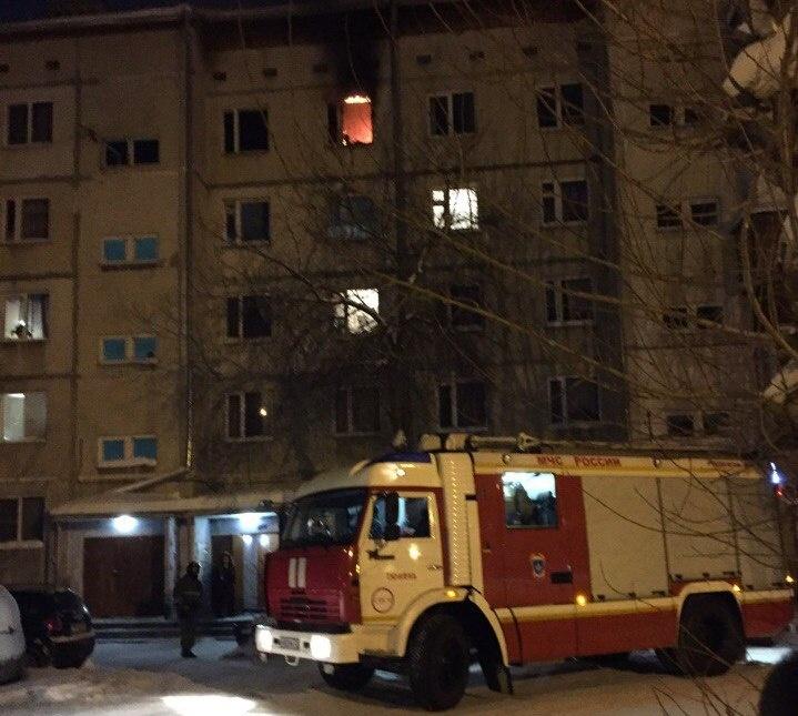 Впожаре наТкацком проезде умер один человек