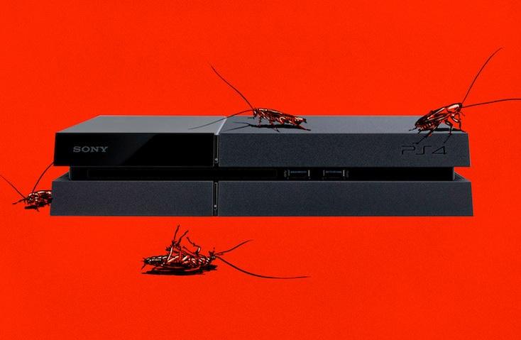 Почему тараканы предпочитают жить в PS 4