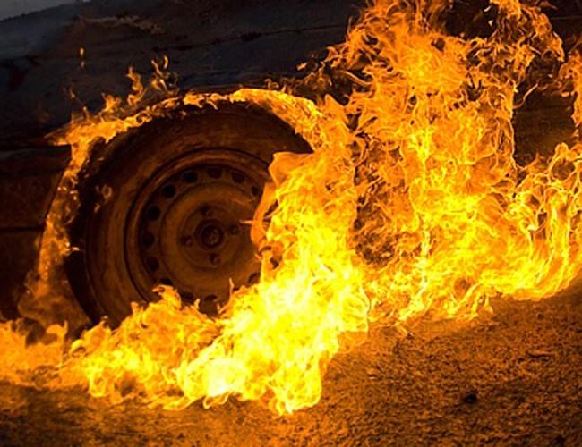 ВТюменской области врезультате ДТП живьем сгорели три человека