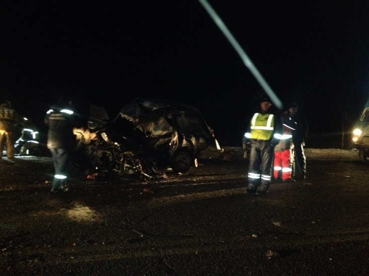 Лоб влоб. ВКурганской области нафедеральной трассе погибли двое мужчин