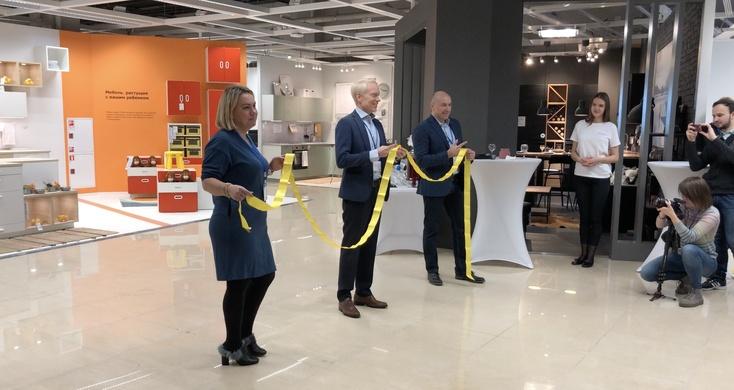 в тюмени открылась Ikea попасть туда сложнее чем на закрытую