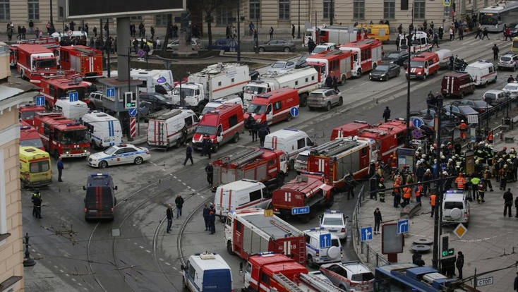 Вметро Санкт-Петербурга впроцессе  взрыва находилась девушка изСургута
