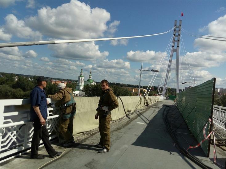 Мост Влюбленных откроют коДню города