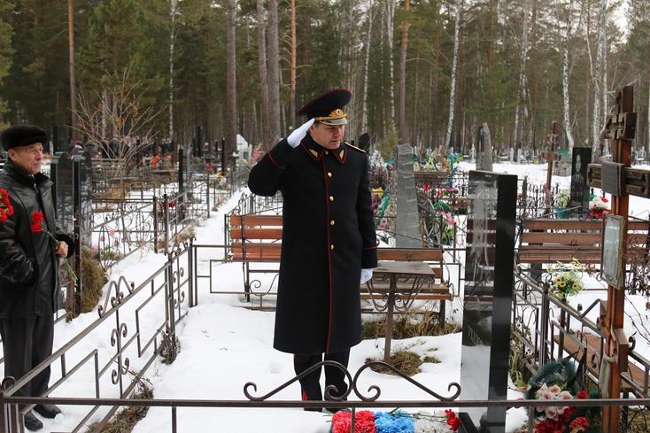 День памяти погибших при исполнении служебных обязанностей служащих МВД