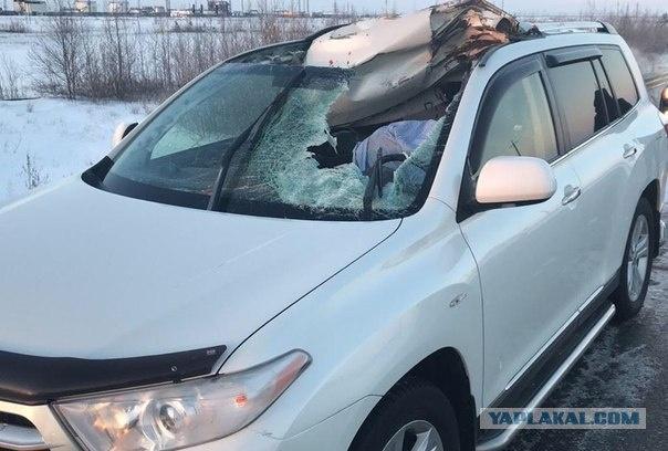ВЯНАО отлетевший от фургона диск убил водителя встречного авто
