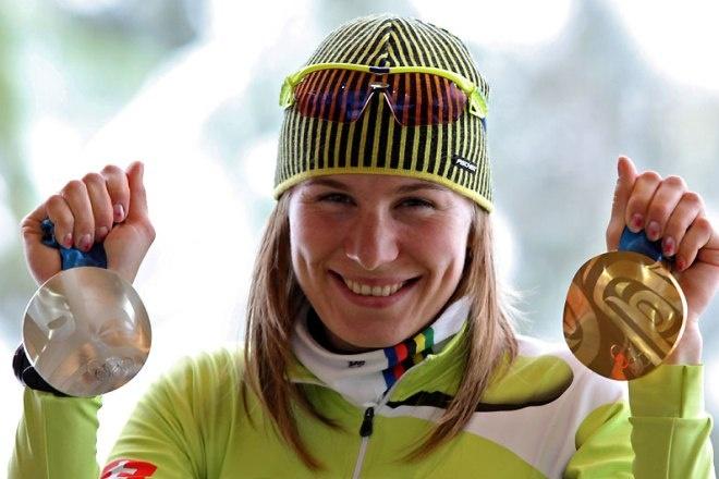 Экс-российская биатлонистка Анастасия Кузьмина выиграла 3-ю подряд Олимпиаду, выступая заСловакию