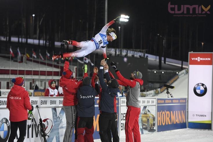 Дарья Домрачева стала два раза чемпионкой на«Жемчужине Сибири»