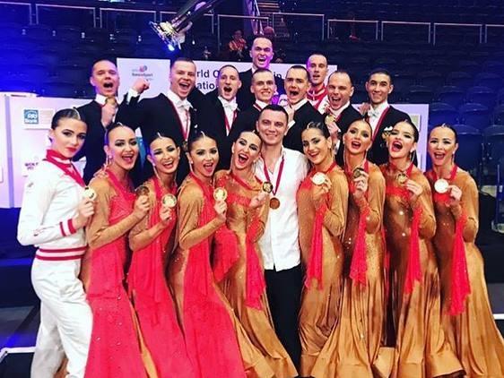 Тюменский коллектив «Формейшн Вера» завоевал «золото» наЧемпионате мира