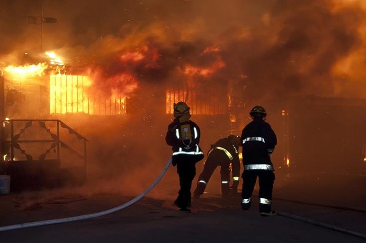 Погибли девять человек— Пожар вЛабытнанги