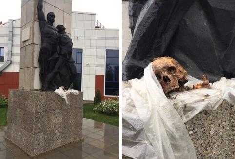 ВТюмени наместе порыва трубы отыскали человеческие останки
