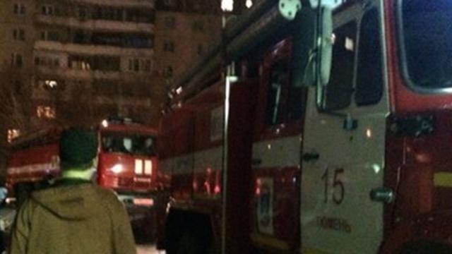 ВТюмени горела квартира наулице Республики