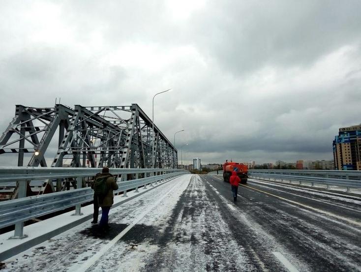 Стало известно, когда точно откроют мост поМельникайте