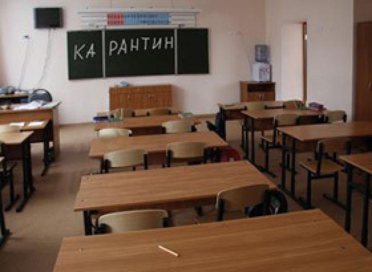 ВДнепропетровске 2 школы закрыли накарантин