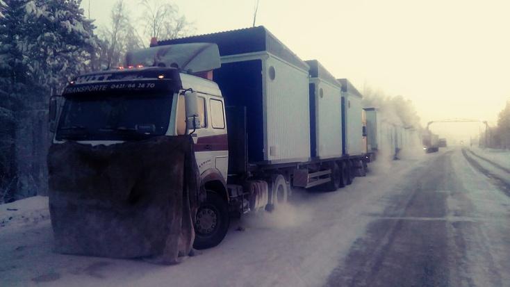 Замерзающий наЯмале дальнобойщик обвинил МЧС ввымогательстве